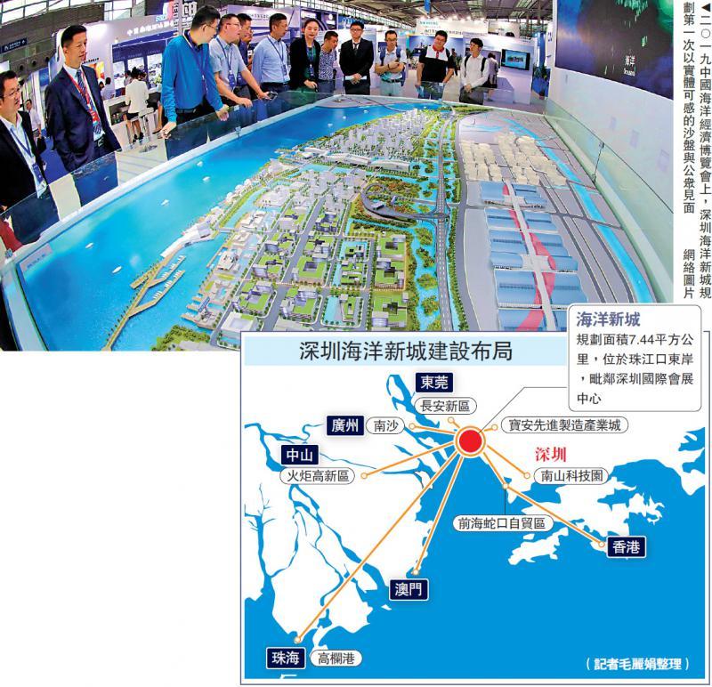 深圳建设海洋经济 联港企创新合作