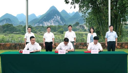 董明珠率团考察桂林 格力将在桂林建智能家居体验馆等项目