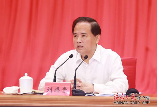 刘赐贵:坚定不移全面从严治党营造风清气正政治生态