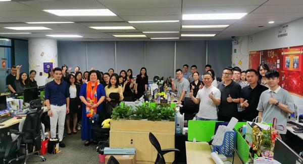 广州迈宝纸塑公司举行公益讲座