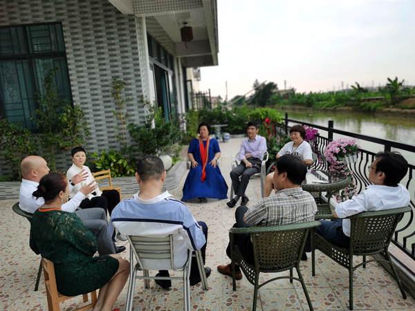 广东人家社会工作发展服务中心公益小结在广州博爱轩举行