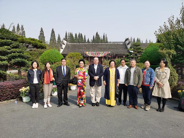 蚕丝文化公益交流在上海金加瀛蚕丝基地举行