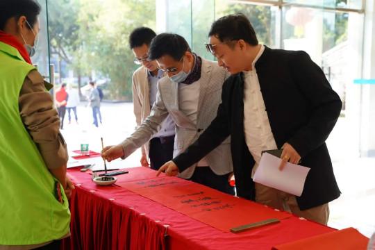 番禺区召开首届青年书法临创作品展暨2020年度番禺区青年书法家协会会员大会