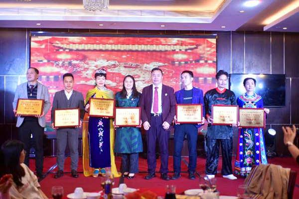 龙嘉传媒总裁(艺人)漓歌出席好品中国暨《粤企春晚》颁奖盛典