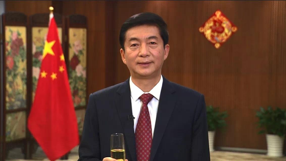"""林英乐坚定支持骆惠宁的""""四个不变"""",表示对香港未来充满信心"""
