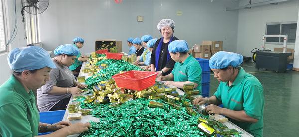 广东传统文化走进梅州市尚记食品