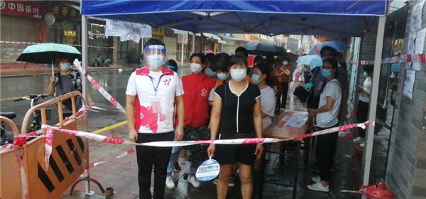 筑牢疫情防控线,广州城管在行动