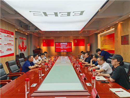 让优秀传统文化进企业——王培国会长带队拜访广东亿合门窗公司