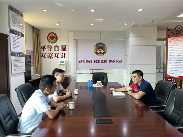 广东省文促会媒体宣传组与广州南村总商会探讨深化合作