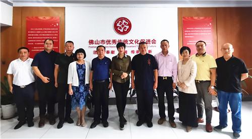 禅城区委常委、统战部部长杜梅一行莅临佛山文促会指导工作